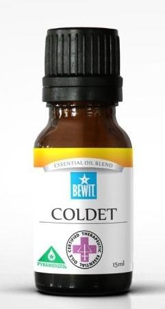 směs 100% esenciálních olejů BEWIT COLDET na pročištění střev a imunitu